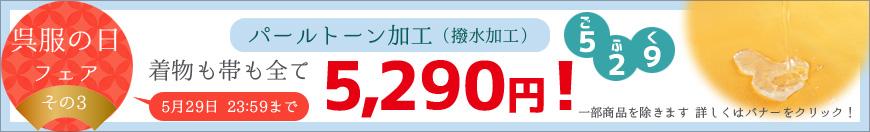 パールトーン全品5,290円